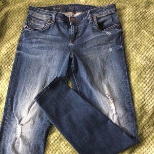 Kut from the Kloth jeans sz 8 Mia toothpick skinny